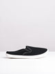 WOMENS BE FREE BLACK CANVAS SHOES- CLEARANCE