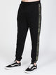 MENS WAVE WASHED PANT - BLACK/CAMO