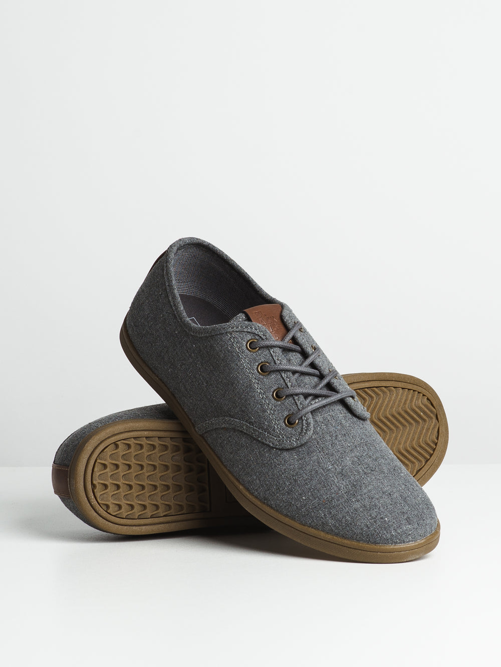 MENS JAKE - GREY/GUM-D1