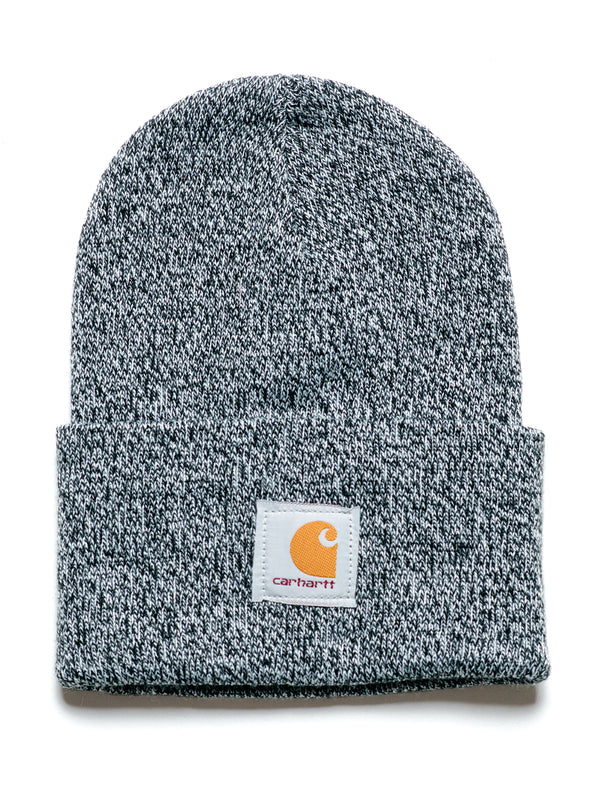 WATCH BEANIE - BLACK/WHITE