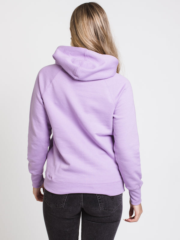 WOMENS PB APPLQ PULL OVER HOODIE- IRIS