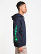 MENS COLOUR POP PULL OVER HDY - NVY
