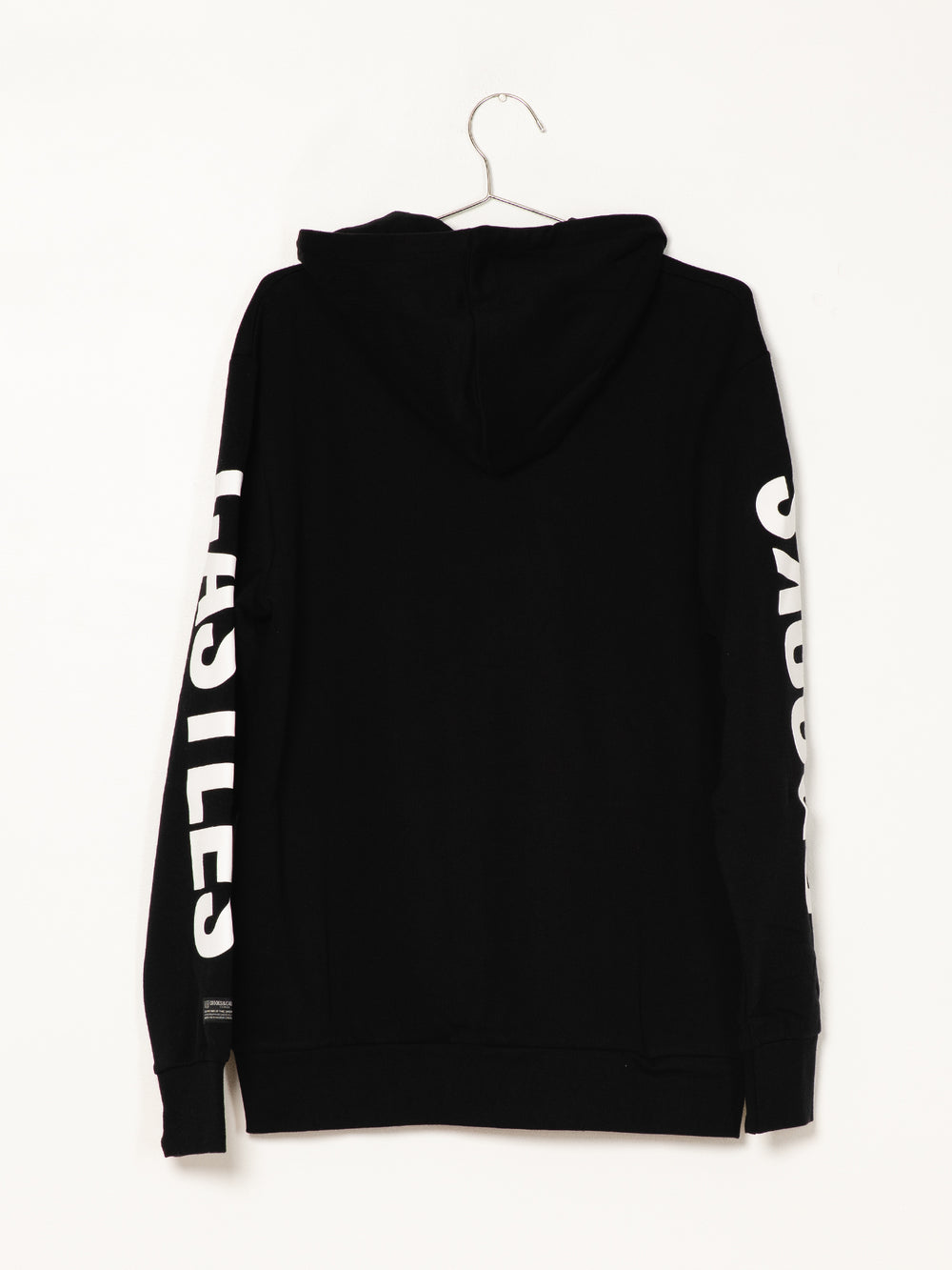 MENS CHAIN C PULLOVER HOOD - BLACK