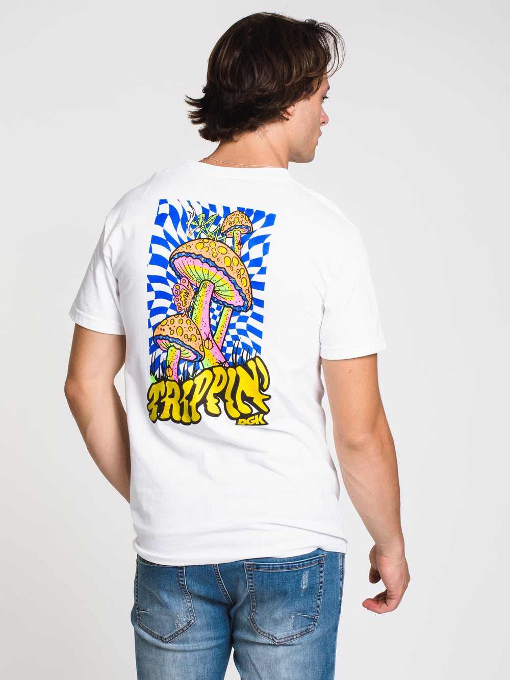 MENS TRIPPIN T - WHITE