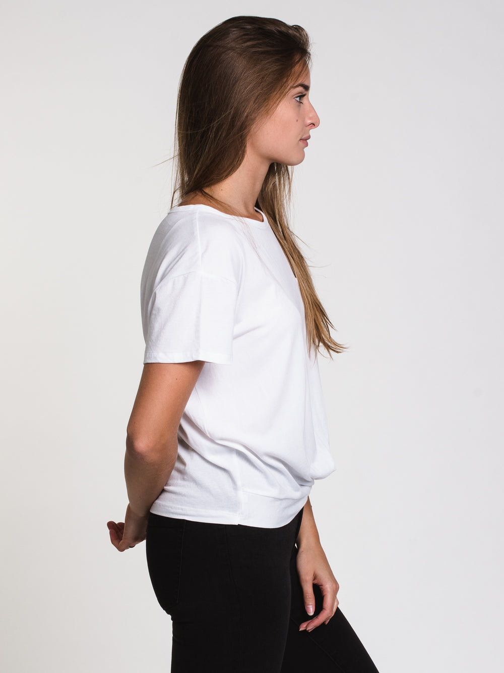 WOMENS EVERLY TWIST TEE