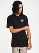 MENS CLASSIC LOGO SHORT SLEEVE T-SHIRT - BLACK