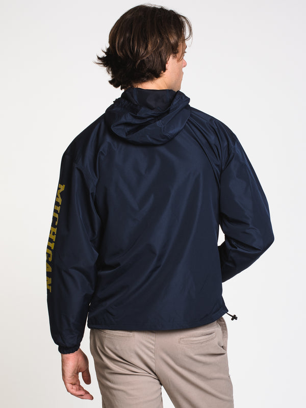 MENS CHM PACKABLE JACKET - MICHIGAN