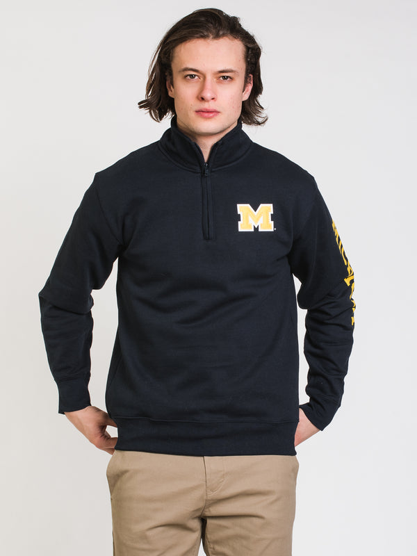 CHM QUARTER ZIP MICHIGAN - NAVY