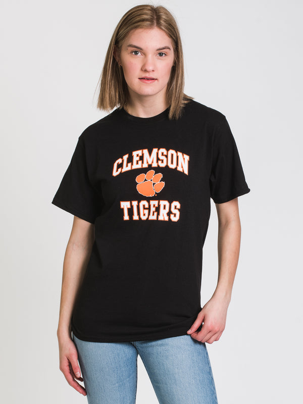 CHM CLEMSON SHORT SLEEVE TEE- BLACK
