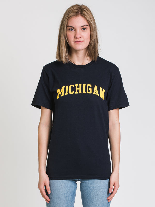 CHM MICHIGAN SHORT SLEEVE TEE- NAVY