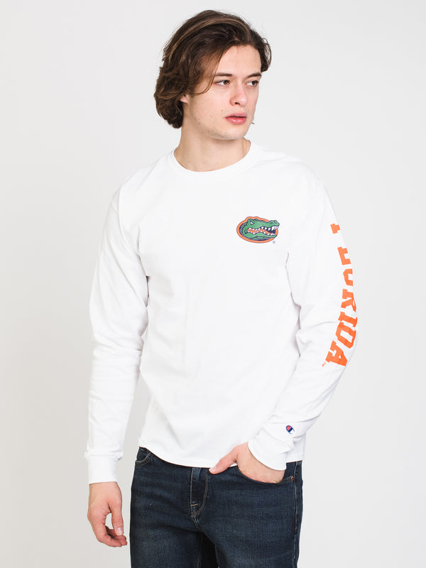 MENS CHM FLORIDA LONG SLEEVE TEE - WHITE
