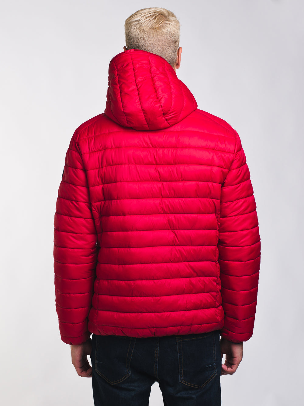MENS REVERSIBLE PUFFER JACKET