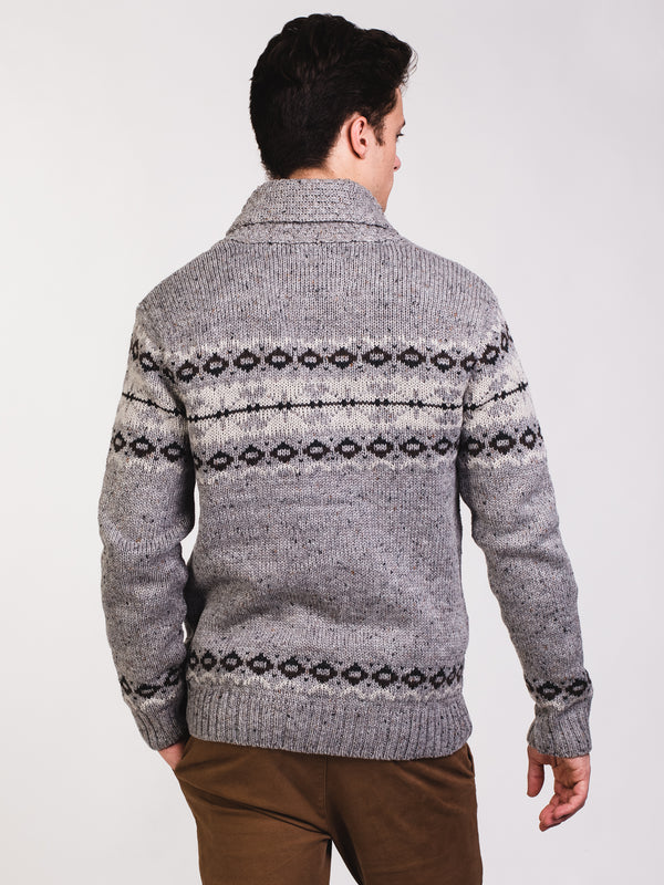 MENS COLOMBIA CARDIGAN - CLEARANCE