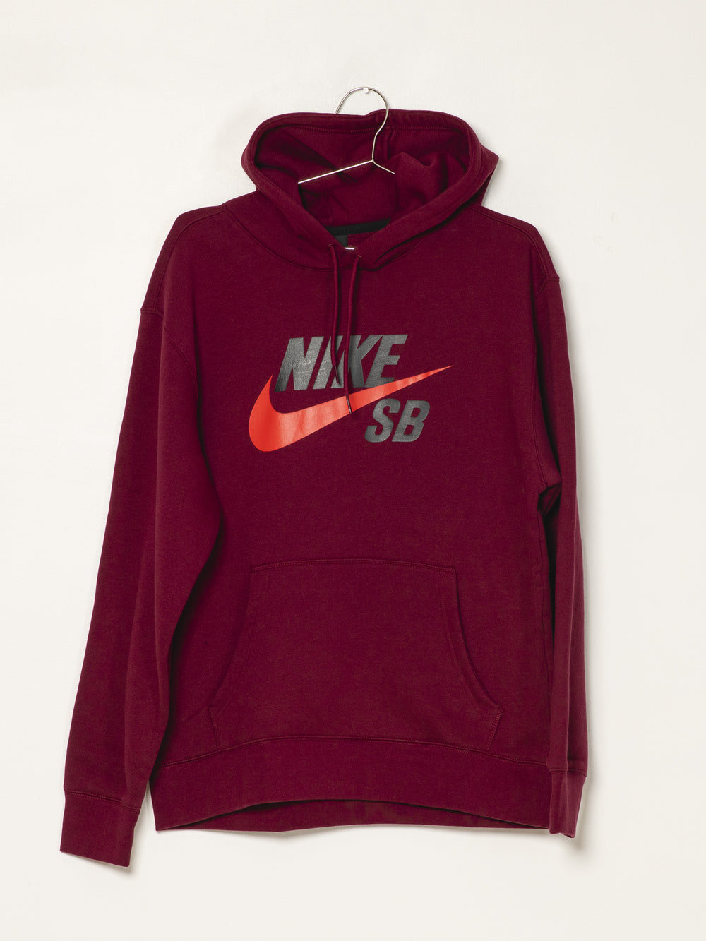 MENS SB ICON PULL OVER HD - DRK BEETROOT