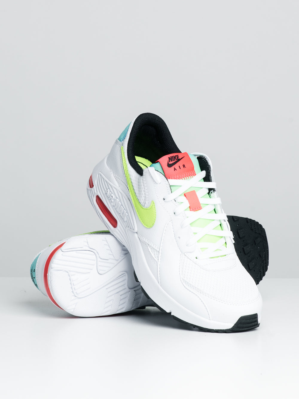 WOMENS NK AIR MAX EXCEE - WHITE/VOLT