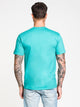 MENS ETERNAL OBEY SHORT SLEEVE T-SHIRT - JADE
