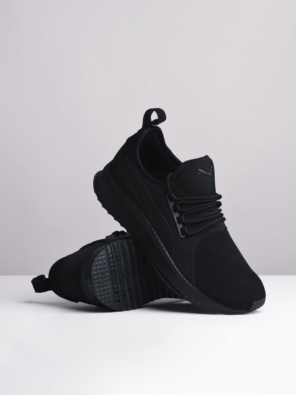 MENS TSUGI APEX PUMA BLACK SNEAKERS - CLEARANCE