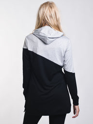 WOMENS A.C.E. BLOCKED HOODIE - BLG - CLEARANCE