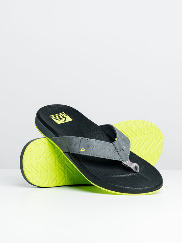 MENS CUSHION PHANTOM - BLACK/LIME