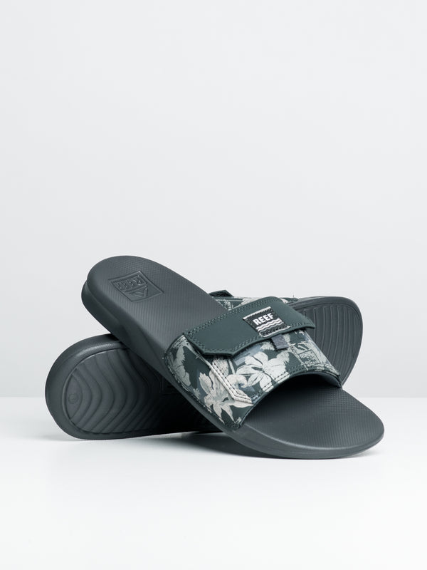 MENS REEF STASH SLIDE - GRY HAWAII