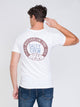 MENS BREAKWATER SHORT SLEEVE T-SHIRT - WHITE