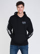 MENS HARDBAIT PULL OVER HD - BLACK