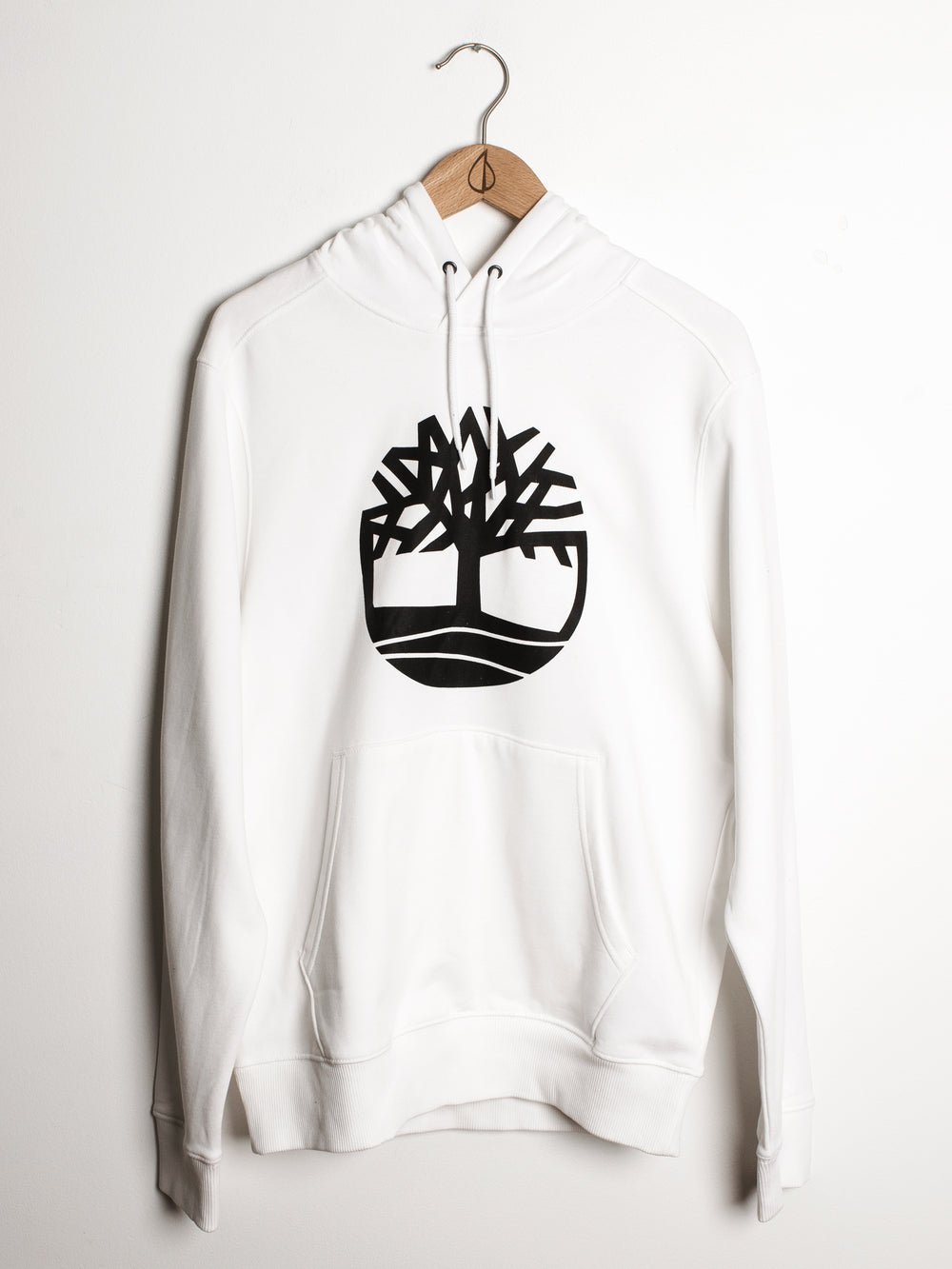 MENS CORE TREE LOGO PULL OVER HD - WHITE