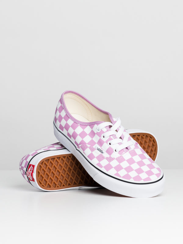WOMENS AUTHENTIC - ORCHID CHECKER