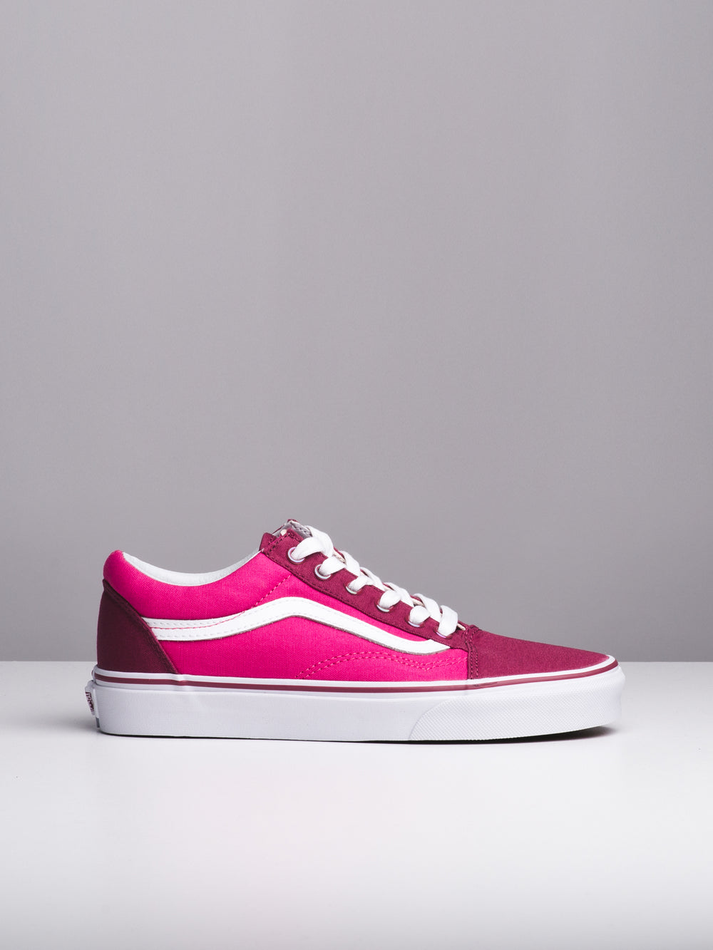 WOMENS OLD SKOOL - ROSE/MAGENTA - CLEARANCE