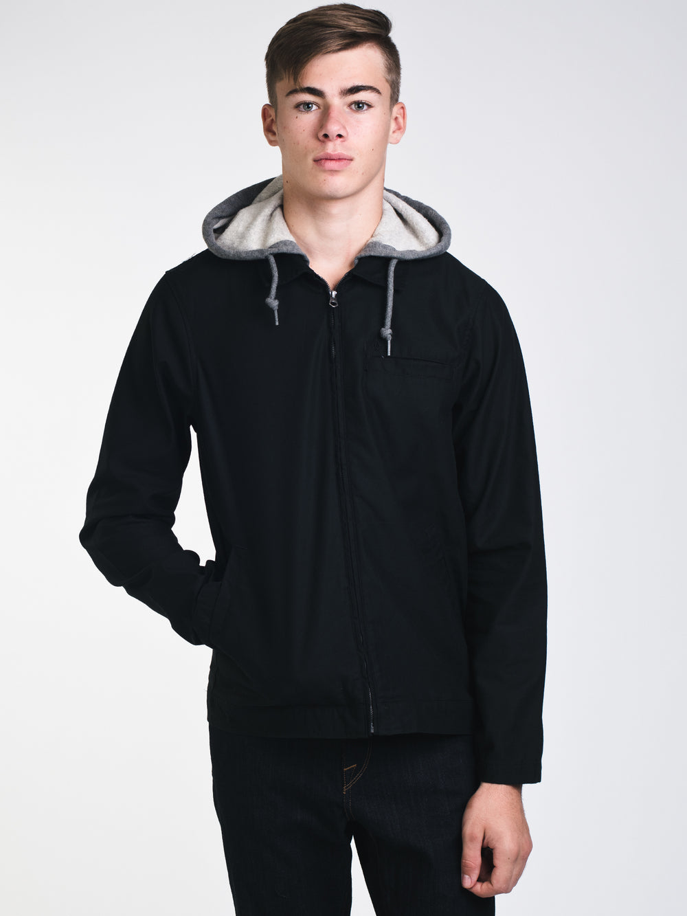 MENS WARREN JACKET - BLACK