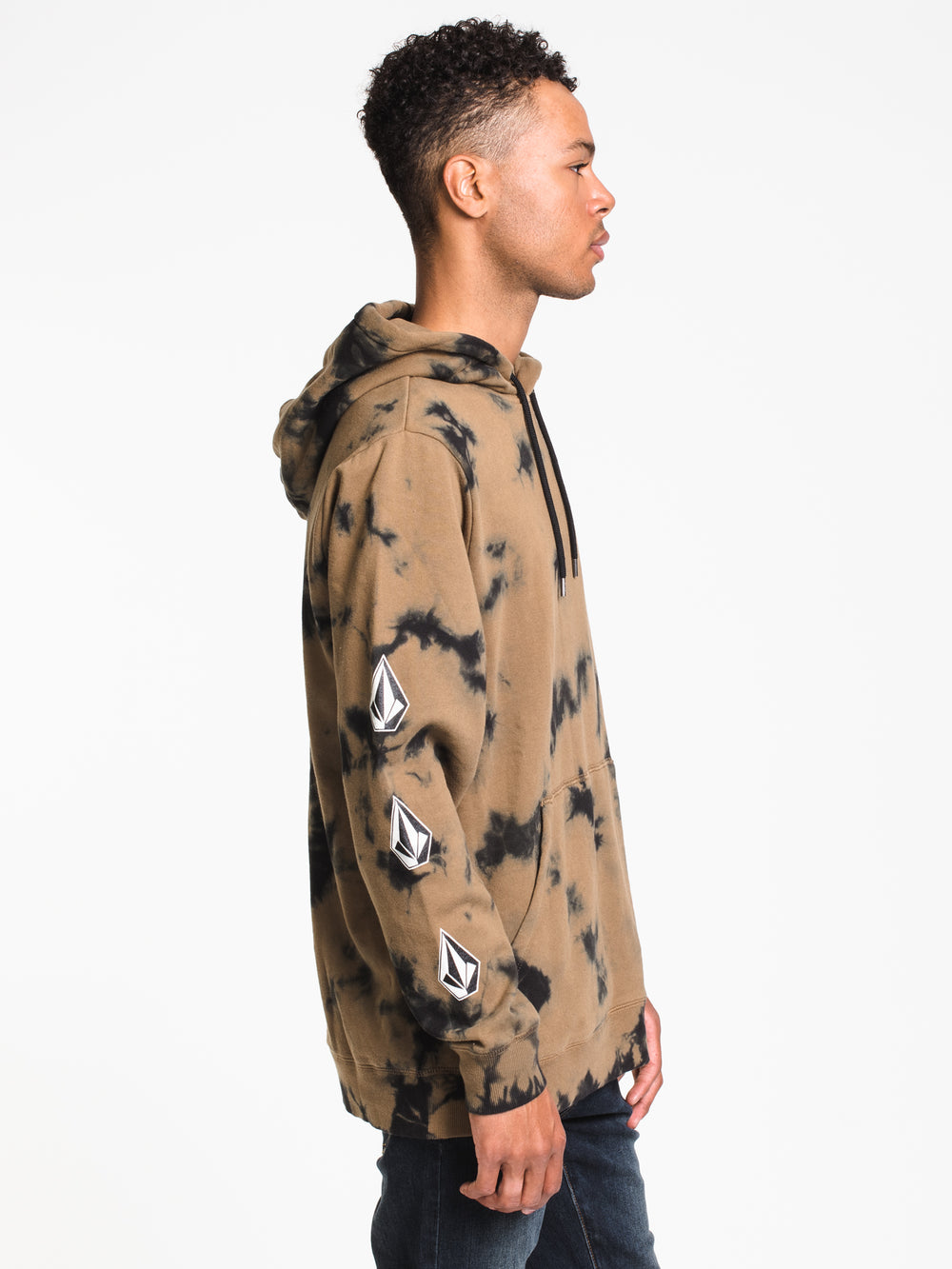 MENS DEADLY STONE PULL OVER HOODIE - SUDAN