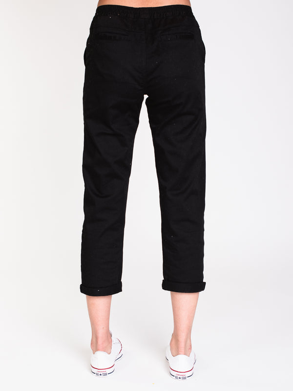 WOMENS FROCHICK TRAVEL PANT - BLACK
