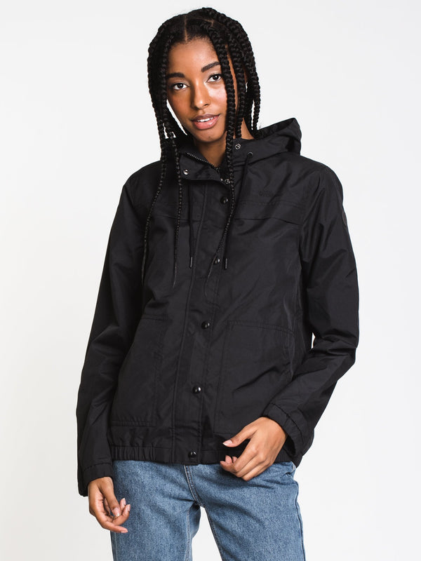 WOMENS ENEMY STONE JKT - BLACK