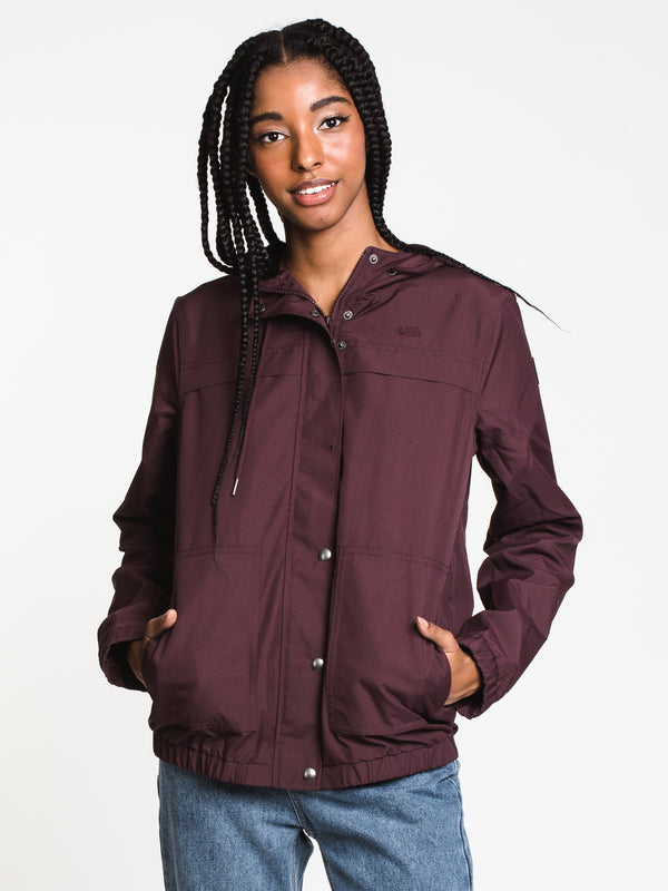 WOMENS ENEMY STONE JKT - DARK PLUM