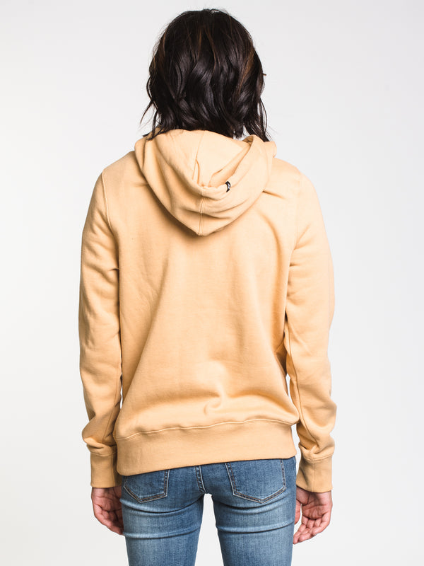 WOMENS VOL STONE PULLOVER HOOD - GOLD