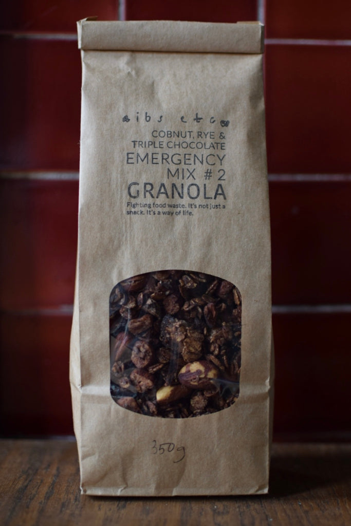 350g Emergency Mix #2: Rye, Cobnut & Triple Chocolate Granola