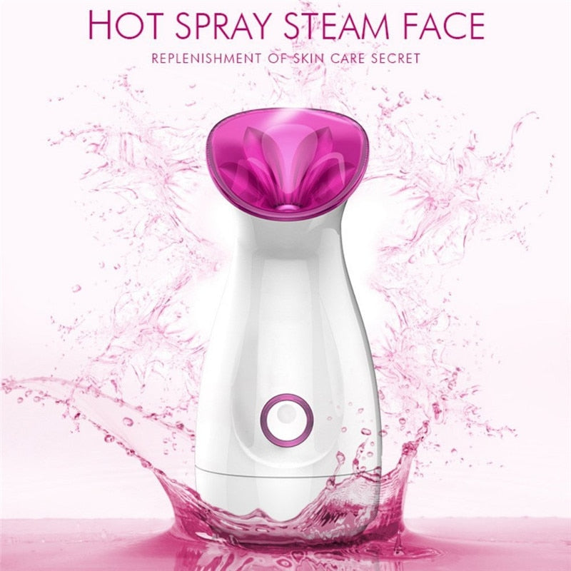 Vapor Facial Steamer Machine Face Skin Care Tools Spa Face Steamer For Moisturizing Skin Whitening Facial Sprayer Washing Tool
