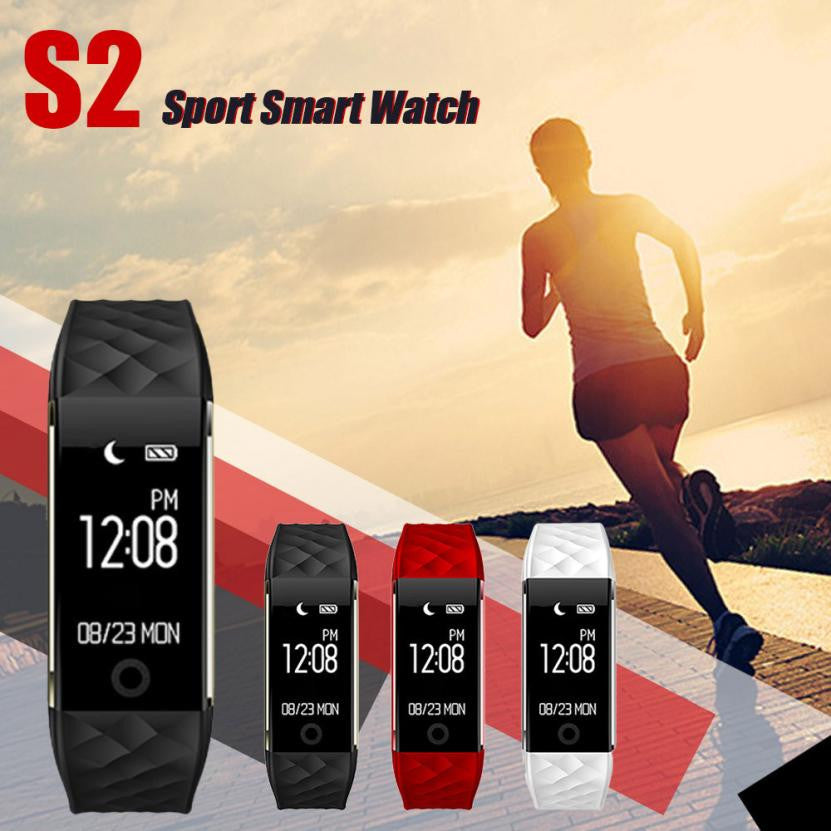 Wholesale High Qualitybluetooth Sport 4.0 Led Waterproof Smart Wrist Pedometer Watch Gift#