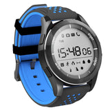 Powstro Outdoor Smart Bracelet F3 Bluetooth Waterproof Ip68 Mode Sport Watch Fitness Tracker Wearable Information Reminder - Black And Blue