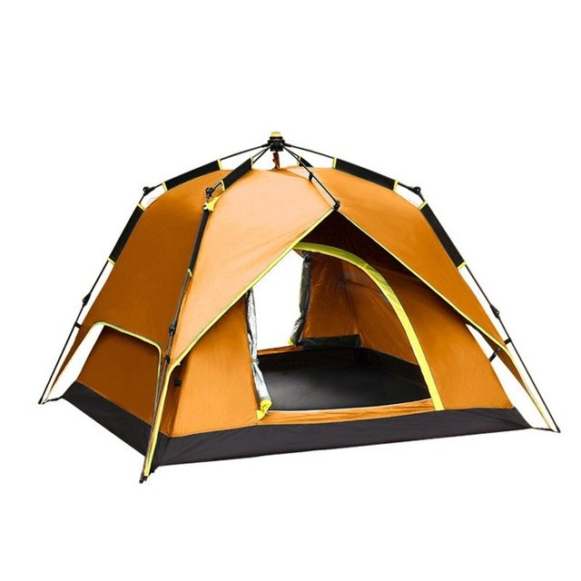 3-4 Persons Portable Fully Automatic Rainproof Tent