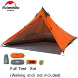 Outdoor Ultralight Hiking Tent 20D Silicone Portable
