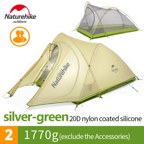 2 Person Ultralight Waterproof Outdoor Camping Tent