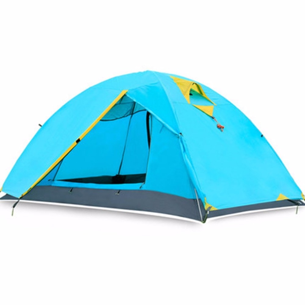 Two Person Double Wall Extent Outdoor Hiking Backpacking Camping Tent new