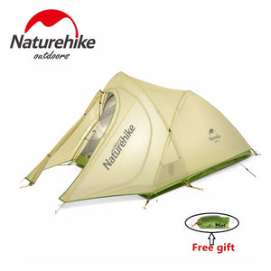 20D Silicone Fabric Double Layers Rainproof Tent