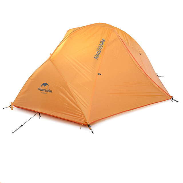 2 Person Ultralight Waterproof 20D Silicone Camping Tent