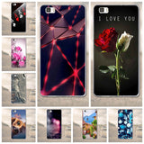 For Huawei Ascend P8 Lite P8 Back Cover 3D Cartoon Silicon Tpu Soft Fundas For Huawei Ascend P8 Lite Cell Phone Case Shell Coque