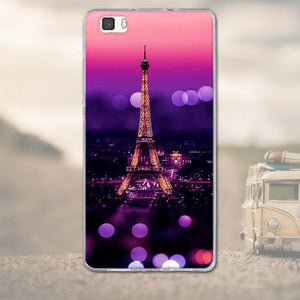 For Huawei Ascend P8 Lite P8 Back Cover 3D Cartoon Silicon Tpu Soft Fundas For Huawei Ascend P8 Lite Cell Phone Case Shell Coque - 4