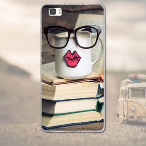 For Huawei Ascend P8 Lite P8 Back Cover 3D Cartoon Silicon Tpu Soft Fundas For Huawei Ascend P8 Lite Cell Phone Case Shell Coque - 22