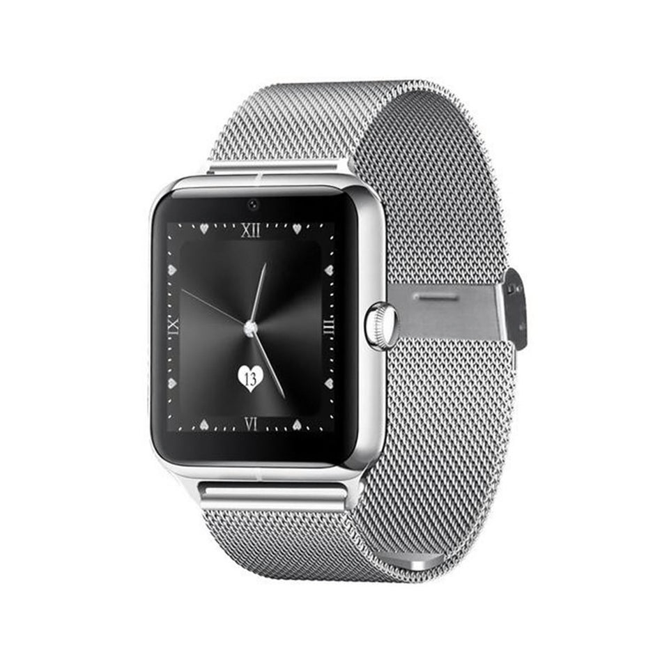 Z50 Bluetooth Smart Watch Phone For Android Ios Samsung Iphone Htc - Silver
