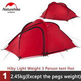 Outdoor 2-3 person Waterproof Double-layer Tent